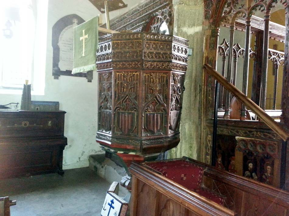 St Sylvester's Pulpit from a different angle